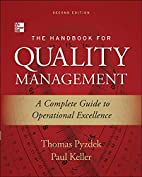 The Handbook for Quality Management by…