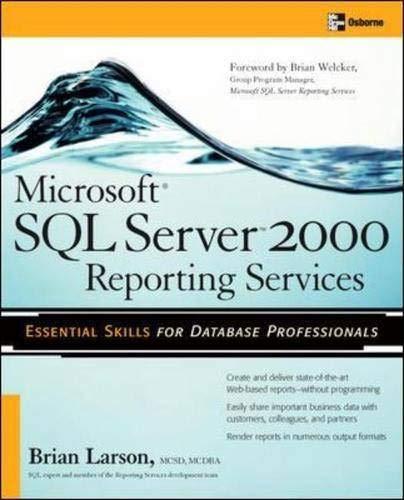 Microsoft Sql Server Reporting Services Ebook