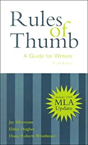 Rules of Thumb: A Guide for Writers with…