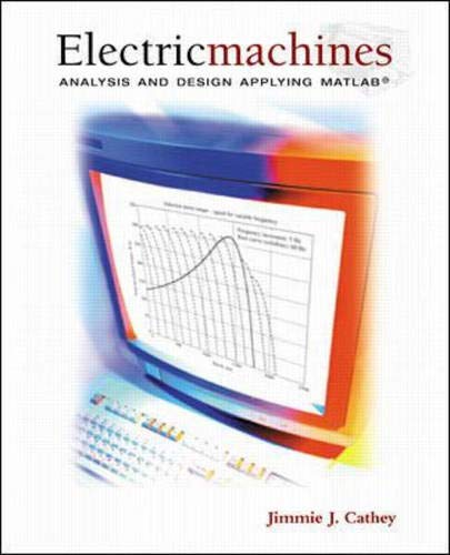 PDF] Electric Machines: Analysis and Design Applying MATLAB