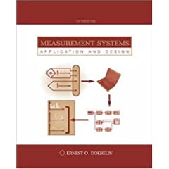 Measurement systems application and design ernest doebelin
