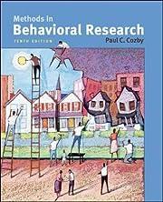 Methods in Behavioral Research de Paul Cozby