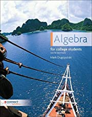 Algebra for College Students, 6th Edition…