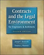Contracts and the Legal Environment for…