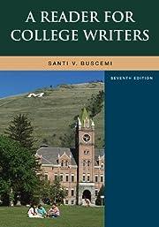A Reader For College Writers – tekijä:…