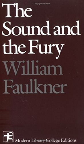 an overview of the main theme in the novel sound and the fury by william faulkner William faulkner, allen tate favored  the central theme of faulkner's work as the greco-trojan myth  in the sound and the fury faulkner's inversion brings on.