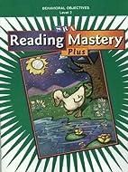 Reading Mastery 2 : Behavioral Objectives:…