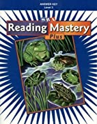 Reading Mastery Plus Level 3 Answer Key by…