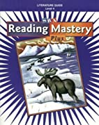 Reading Mastery Plus. Literature Guide Level…