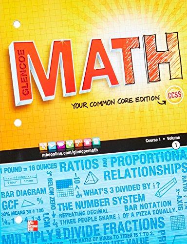 Glencoe Math, Course 1, Volume 1 - Lexile® Find a Book