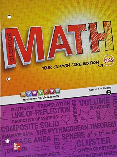 Glencoe Math, Course 3, Volume 2 - Lexile® Find a Book   MetaMetrics
