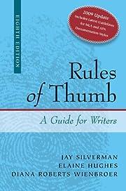 Rules of Thumb APA / MLA Documentation…