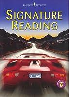 Signature Reading, Level G (Jamestown…