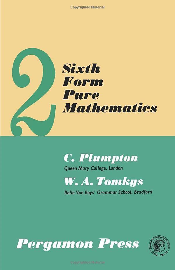 PDF] Sixth Form Pure Mathematics: Volume 2   Free eBooks