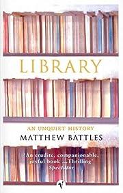 Library by Matthew Battles