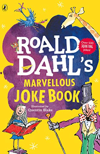 Roald Dahl's Marvellous Joke Book [Paperback] by UNKNOWN ( Author )