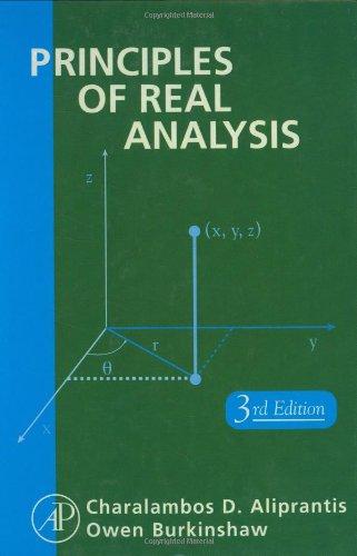 PDF] Principles of Real Analysis, Third Edition   Free eBooks