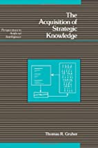 The Acquisition of Strategic Knowledge…