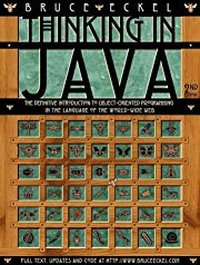 Thinking in Java (2nd Edition) de Bruce…