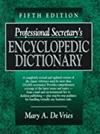 Professional Secretary's Encyclopedic…