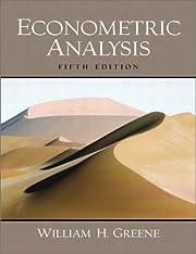 Econometric Analysis (5th Edition) av…