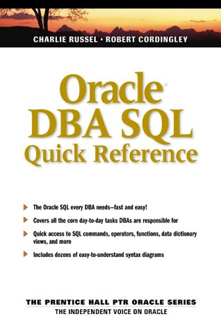 Commands pdf dba oracle
