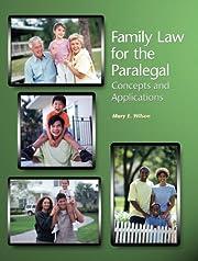 Family Law for the Paralegal av Mary E.…