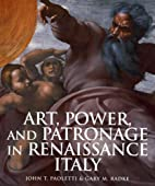 Art, Power, and Patronage in Renaissance…