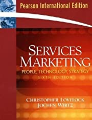 Services Marketing: People, Technology,…