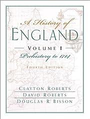 A History of England, Volume I: Prehistory…
