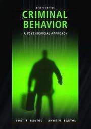 Criminal behavior : a psychosocial approach…