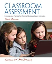 Classroom Assessment: Principles and…