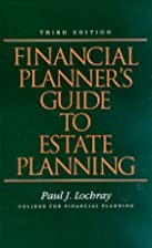 Financial Planner's Guide To Estate…