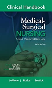 Clinical handbook for medical-surgical…