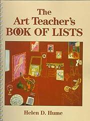 The art teacher's book of lists por Helen D.…