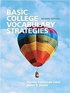 Basic College Vocabulary Strategies (2nd…