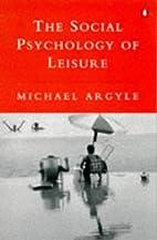 Social Psychology of Leisure (Penguin…