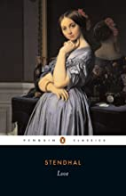 Love (Penguin Classics) by Stendhal
