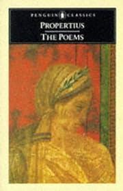 The Poems (Penguin Classics) af Propertius