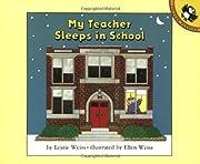 My Teacher Sleeps in School (Picture…