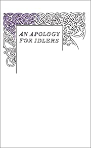 An Apology for Idlers (Penguin Great Ideas)…