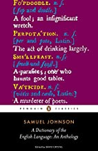 A Dictionary of the English Language: An…