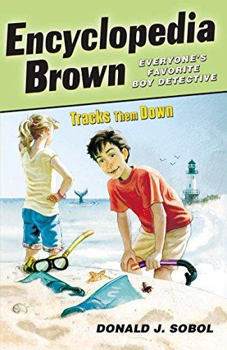 Encyclopedia Brown Tracks Them Down, Sobol, Donald J.