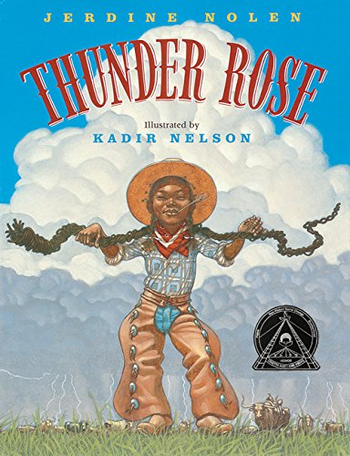 Thunder Rose by Jerdine Nolen book cover