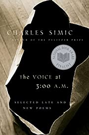 The Voice at 3:00 A.M.: Selected Late and…