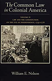 The Common Law in Colonial America: Volume…
