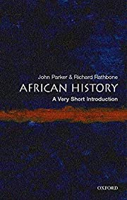 African History: A Very Short Introduction…