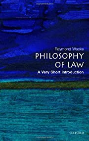Philosophy of Law: A Very Short Introduction…