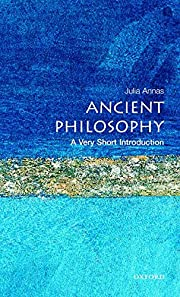 Ancient Philosophy: A Very Short…