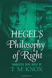 Philosophy of Right (Galaxy Books) de Georg…